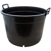 Round Pot 65L - Black