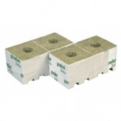 "Grodan 3"" Rockwool Cubes - Small Hole (priced per cube)"
