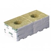 "Grodan 4"" Rockwool Cubes - Small Hole (priced per cube) Home Hydro"