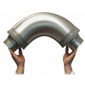 Flexible Silencer 100mm (Home Hydro)