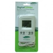 Digital Combo Nutrient and Growroom Thermometer (Home Hydro)