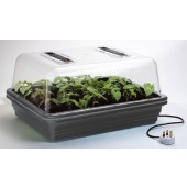 Stewarts Large Heated Propagator (52x41.5x28cm) (Home Hydro)