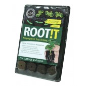 Rootit Natural Rooting Sponges - 24 Insert & Tray
