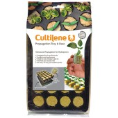 Cultilene Round (36mm) Propagator Plugs in a Tray (Home Hydro)