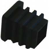 BUILDIT Black End Cap - Pack Of Four (Home Hydro)
