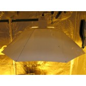 Parabolic White Reflector - Large (Home Hydro)
