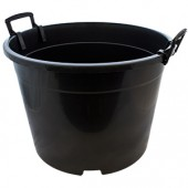 Round Pot 35L - Black