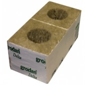 "Grodan 4"" Rockwool Cubes - Large Hole (priced per cube)"