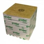 "Grodan 6"" 'Hugo' Rockwool Cube - Large Hole (priced per cube) Home Hydro"