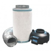 """RAM Fan & Fresh Filter Kit 4"""" (reducer required) (Home Hydro)"""