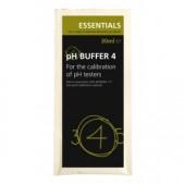 Essentials pH Buffer 4 30ml Sachet