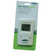 Digital Min/Max Combo Thermo Hygrometer (Home Hydro)