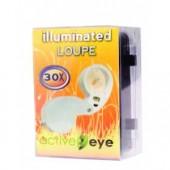 Active Eye Illuminated Magnifier Loupe (30x) (Home Hydro)