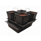 Wilma Big 4 Pot Kit Complete (Home Hydro)