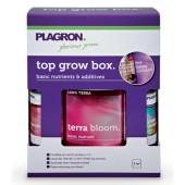 Top Grow Box 100% Terra - 1L Terra Bloom / 100ml Terra Grow / 100ml Power Roots / 100ml Pure Enzym / 100ml Green Sensation Plagron (Home Hydro)